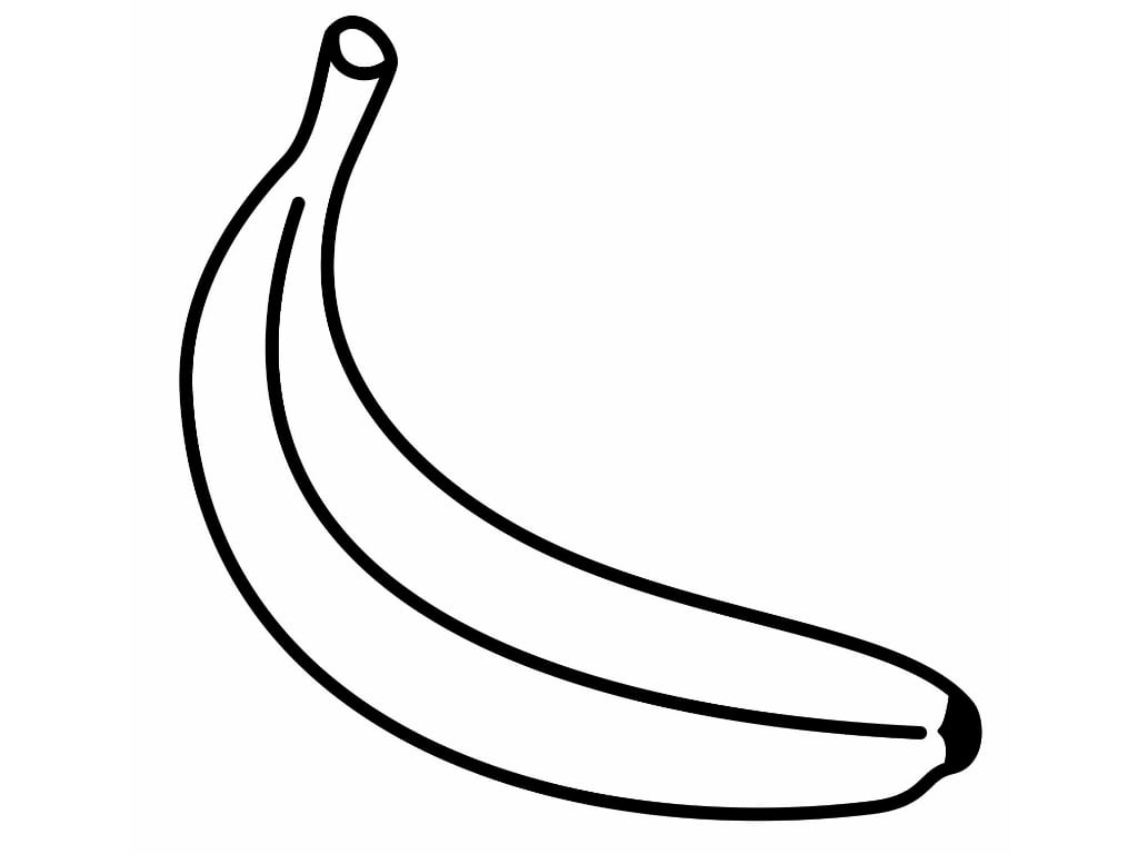 New Bananas Coloring Pages Gallery