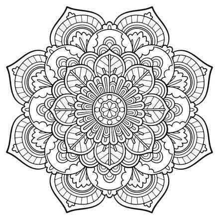 203 Free Printable Coloring Pages For Adults