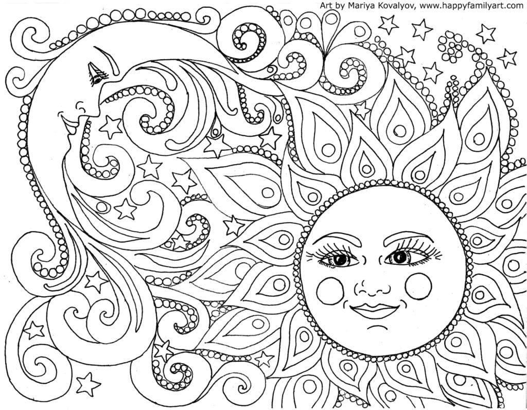 Best Coloring Pages With Wallpaper