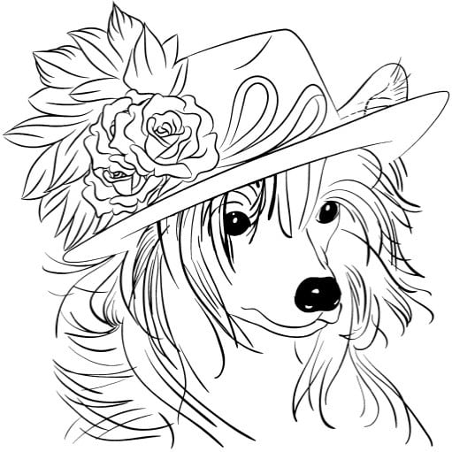 Coloring Book Dogs Inspiration Graphic Coloring Book Dogs At