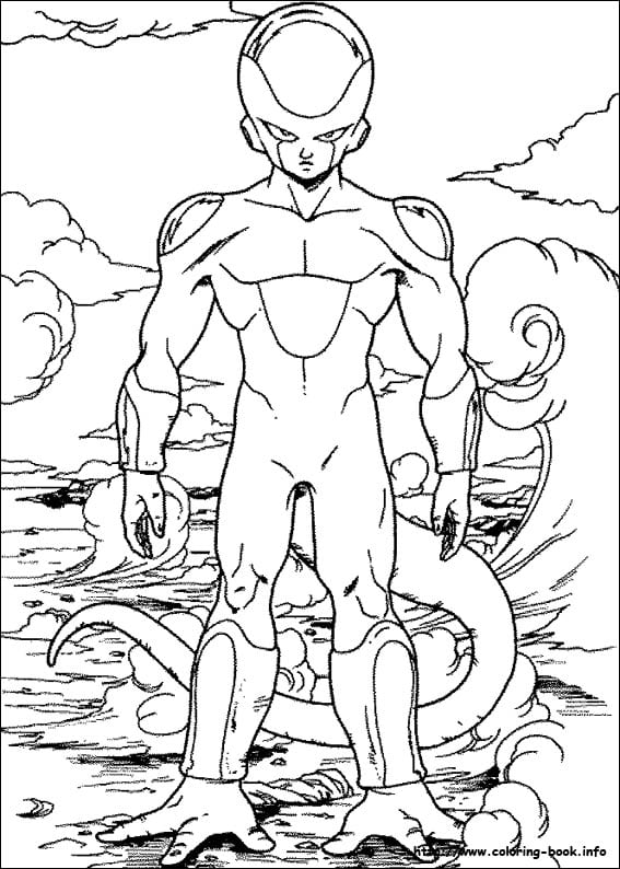 Dragon Ball Z Coloring Pages Vintage Dragon Ball Z Coloring Books