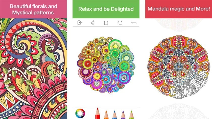 Brilliant Ideas Coloring Book App 10 Best Adult Coloring Book Apps