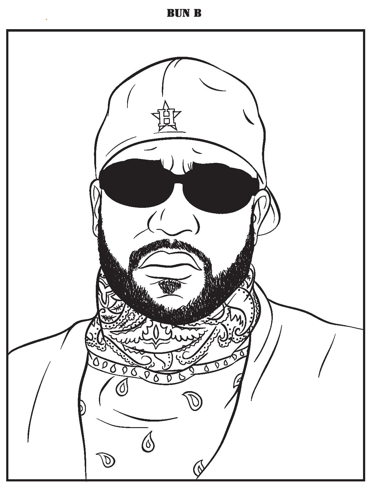 A Tempered, Measured Review Of  Bun B's Rap Coloring And Activity