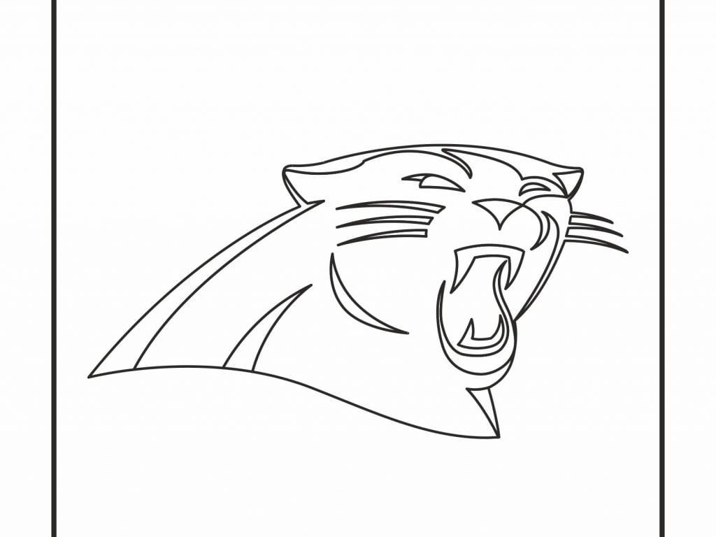 And Carolina Panthers Coloring Pages