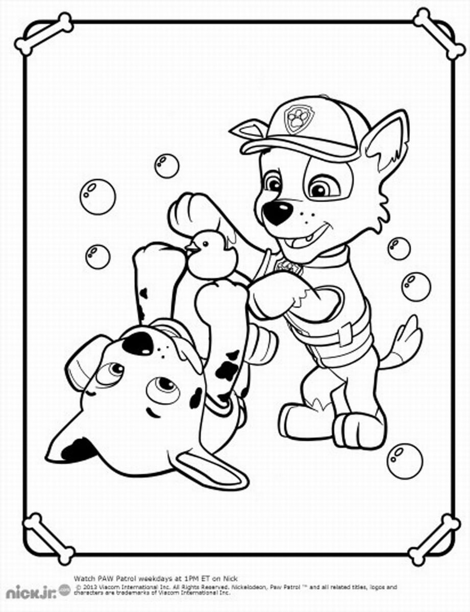 Best Cartoons Paw Patrol Coloring Pages Free 68 Printable