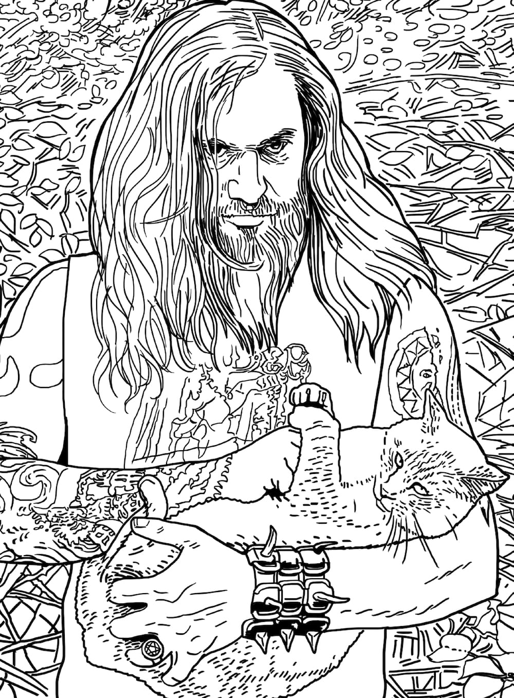 The Metal Cats Coloring Book Is Merges All Your Most Favorite