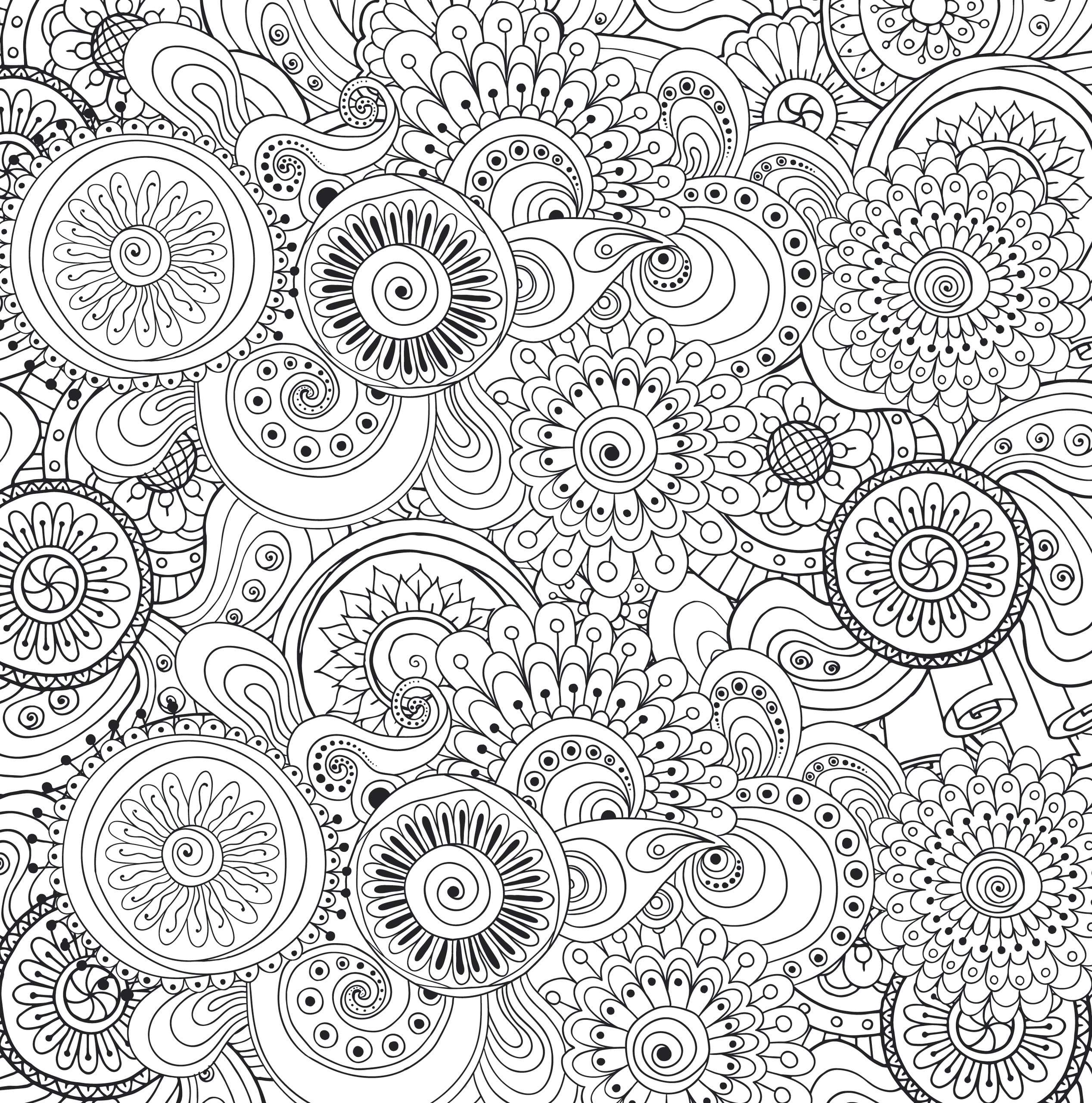 Coloring Book For Adults Printable Coloring Image Colouring Pages