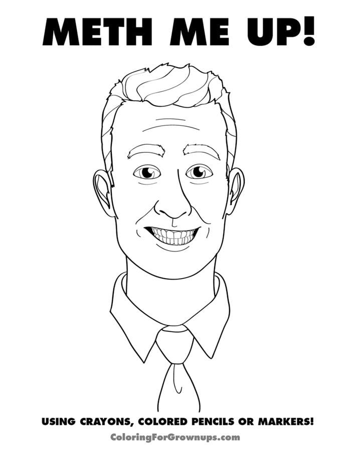 7 For Funny Coloring Pages Adults