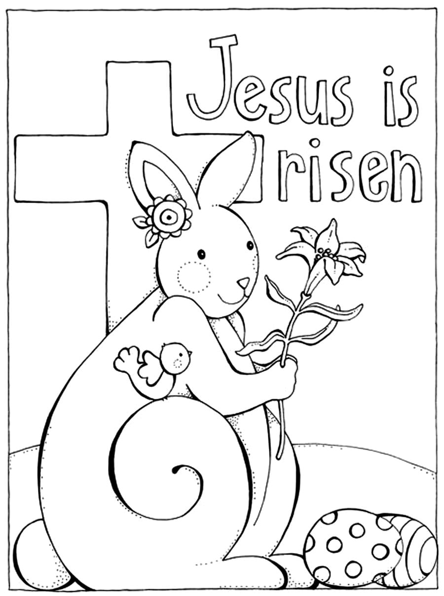Best Coloring Pages Religious Religious Easter Coloring Pages Free