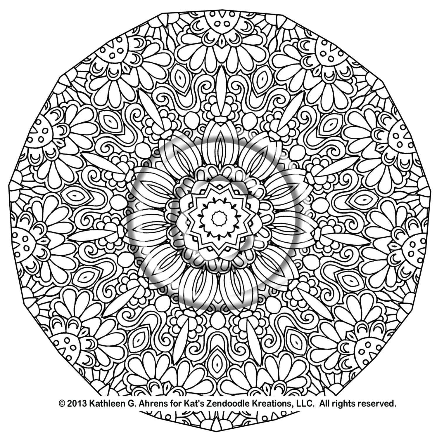 Get This Free Complex Coloring Pages To Print For Adults S4vhy At