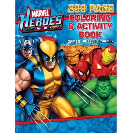 Cool Marvel Coloring Books