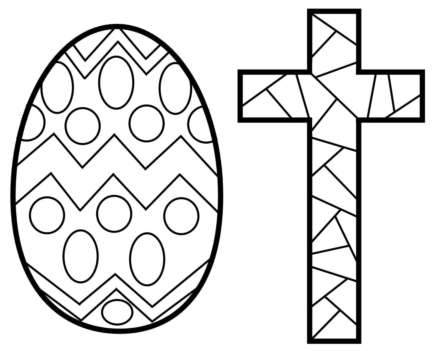 Cross Coloring Pages With Wallpaper High Resolution