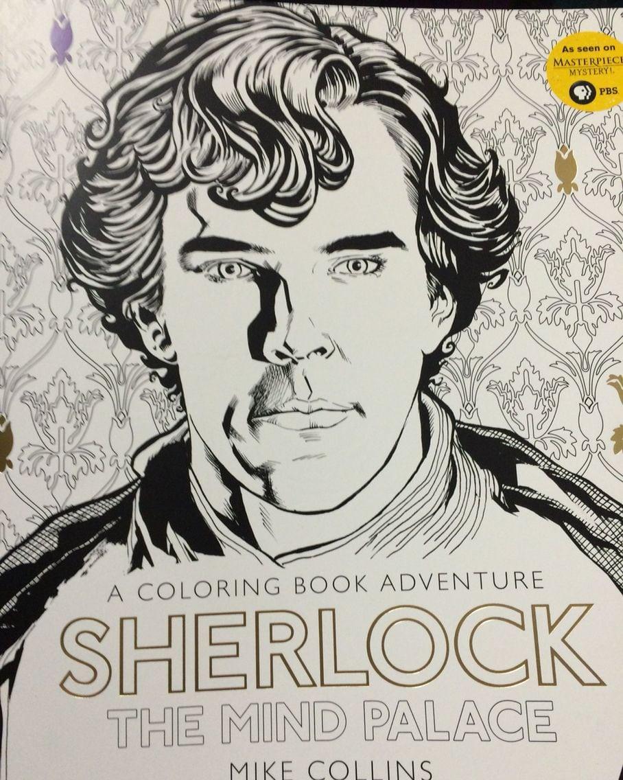 Sherlock Coloring Book  Benedict Cumberbatch