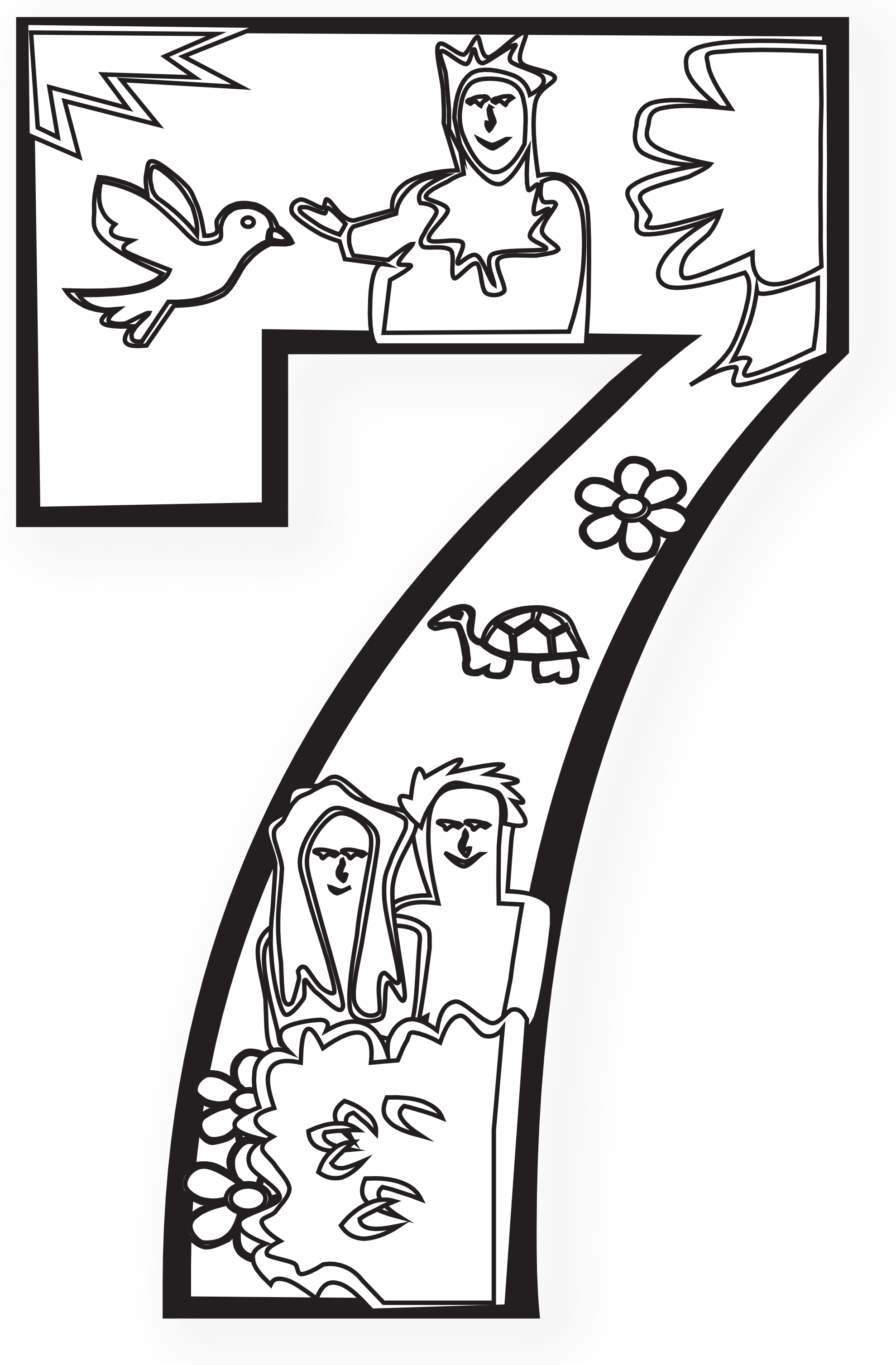 Days Of Creation Coloring Pages 14  2253