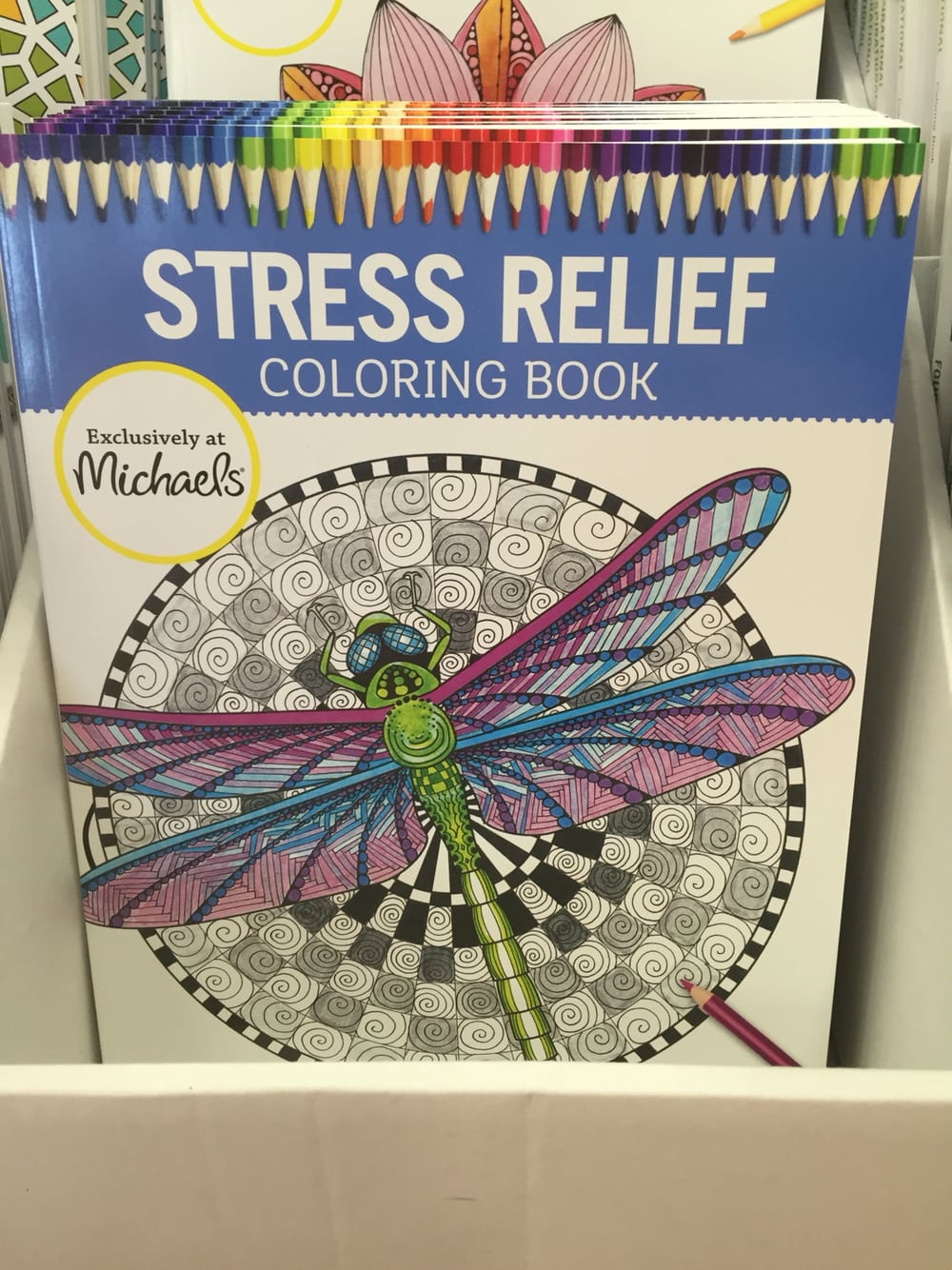 Adult Coloring Books @ Michaels
