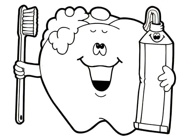 Letter T Is For Tooth Stunning Dental Coloring Pages For Preschool