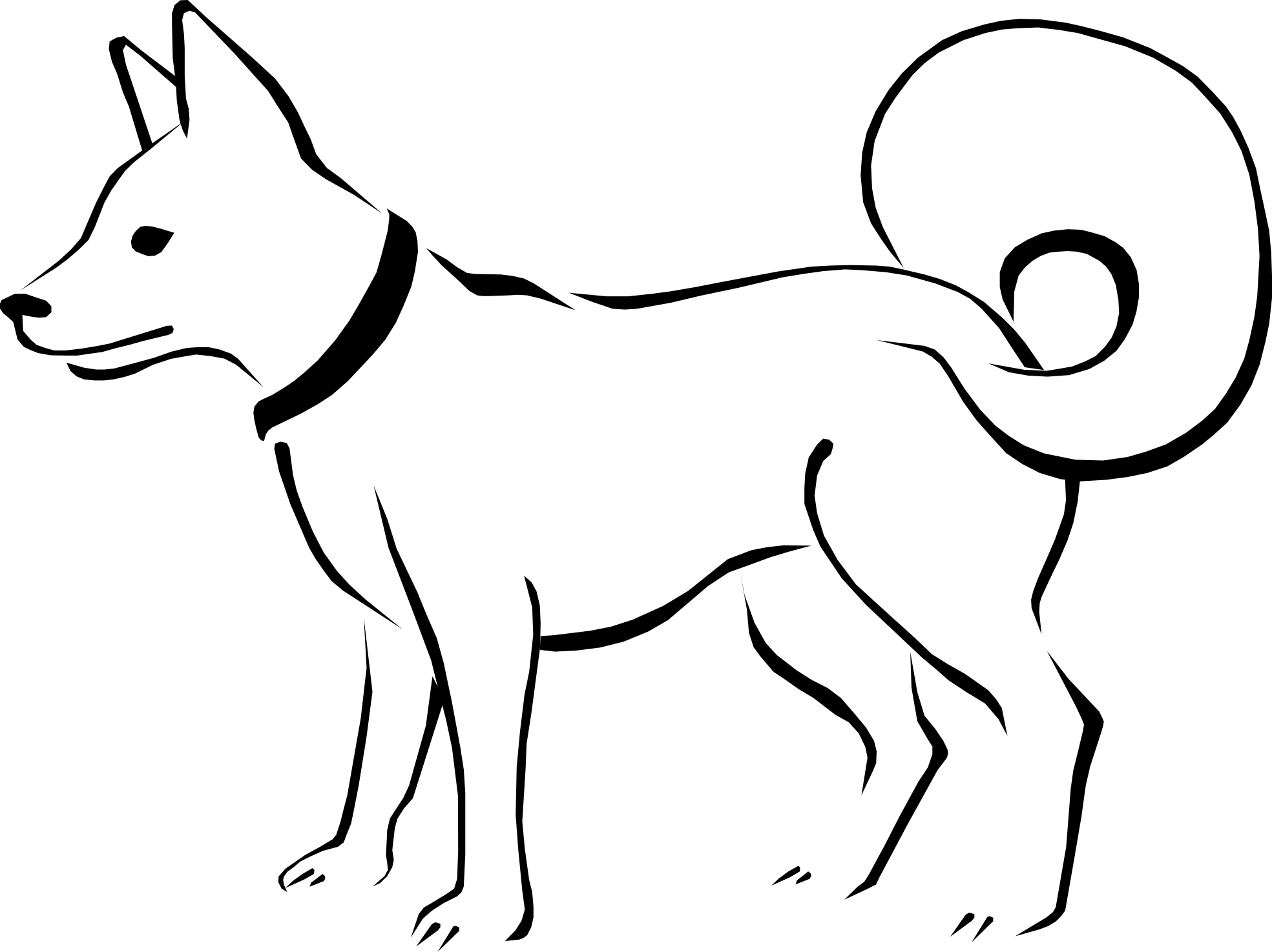 Dog Coloring Book Artcommission Coloring For Kids 14982