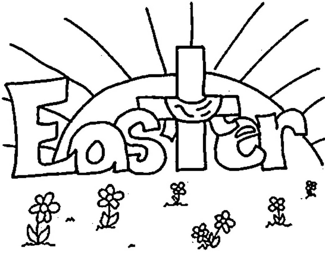 Easter Coloring Pages Free Printable Religious To Print And