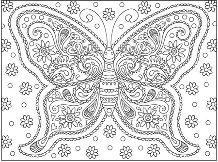 New Coloring Book Adult