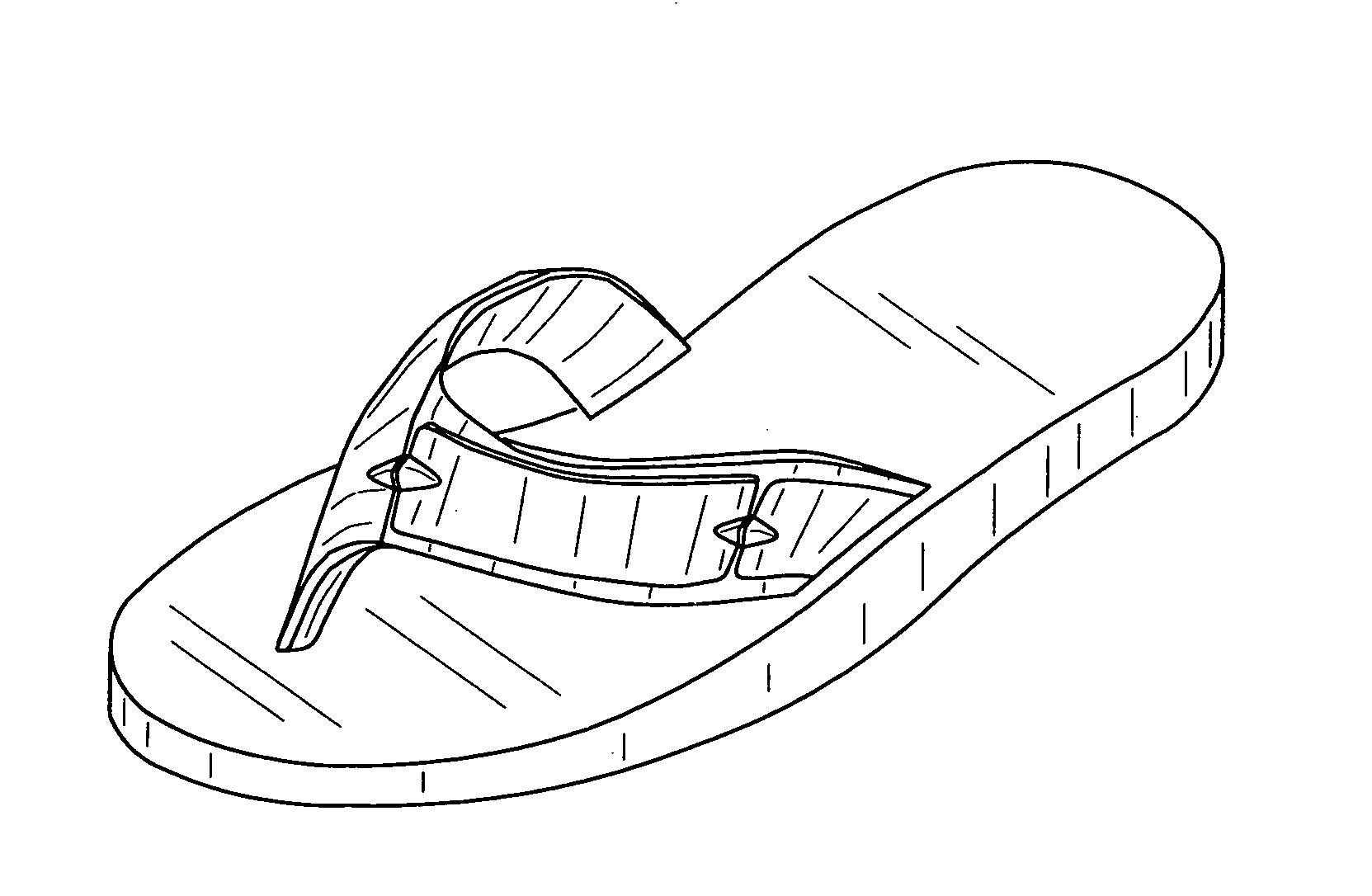 flip flop coloring pages