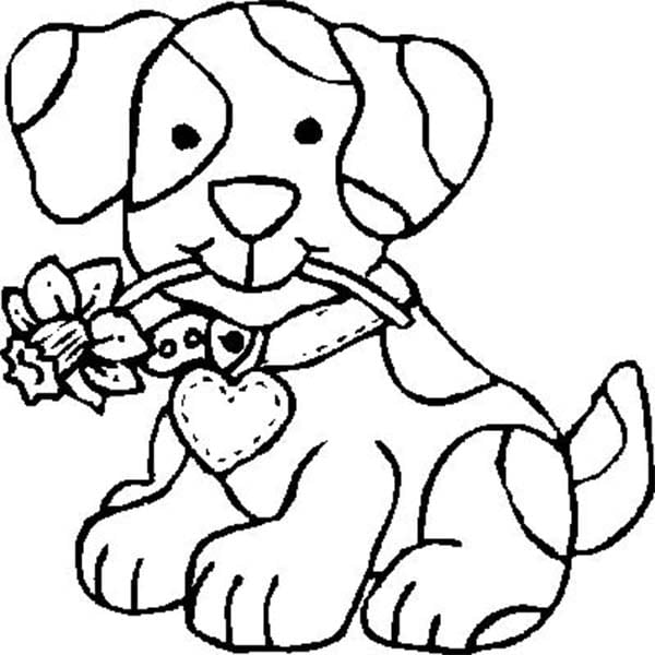Flowers Coloring Pages Flower Coloring Page 41 Pinteres
