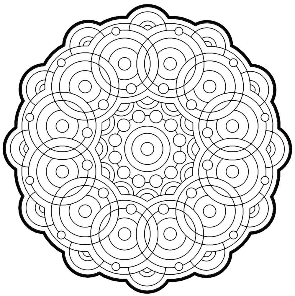 Fractal Coloring Pages Bestofcoloring Colouring Pages 16544