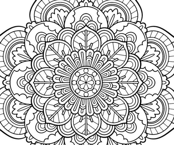 Marvelous Adult Coloring Pages