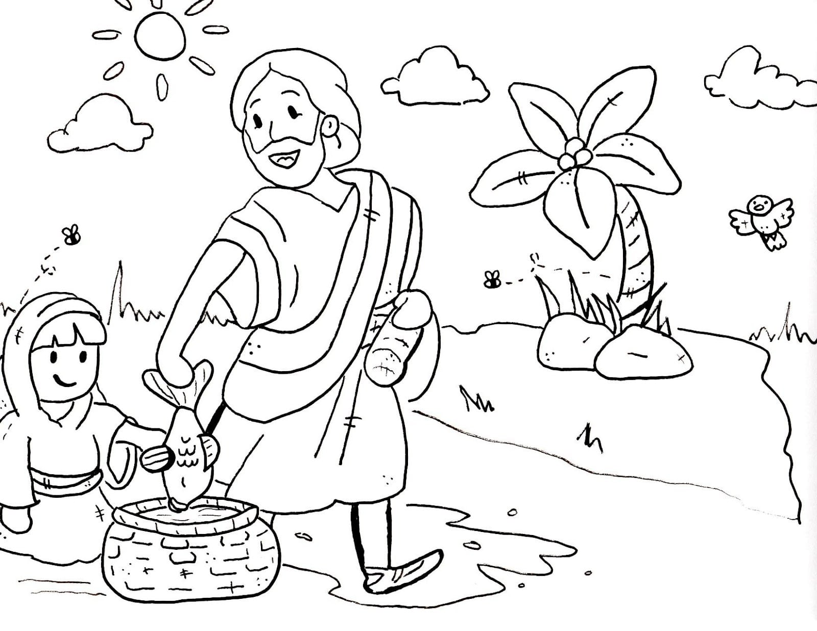 Free Printable Sunday School Coloring Pages 24804