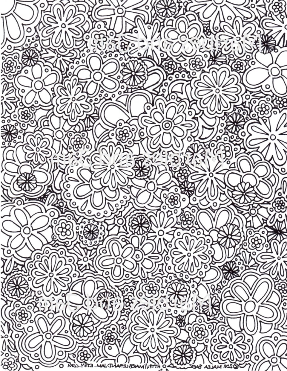 Get This Free Complex Coloring Pages To Print For Adults S8cje !