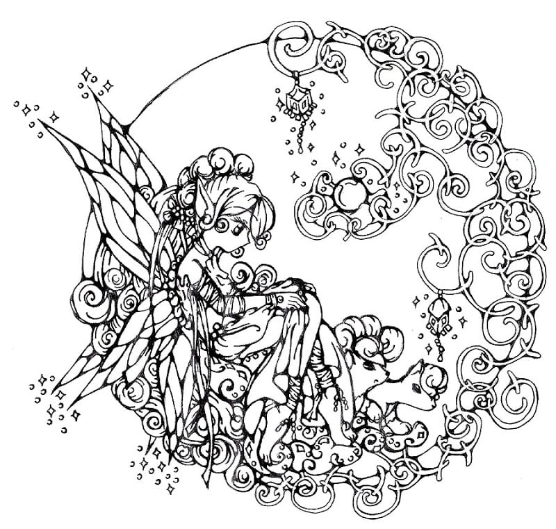 Chic Design Free Printable Coloring Pages Adults Elegant For 86