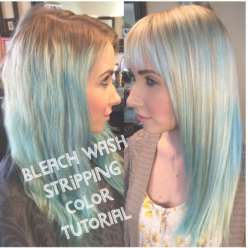 Functional How To Strip Out Colored Hair