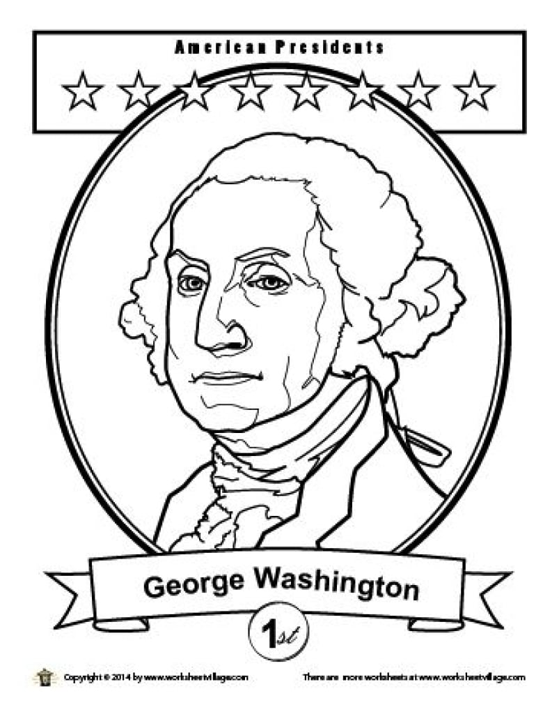George Washington Coloring Page - NEO Coloring