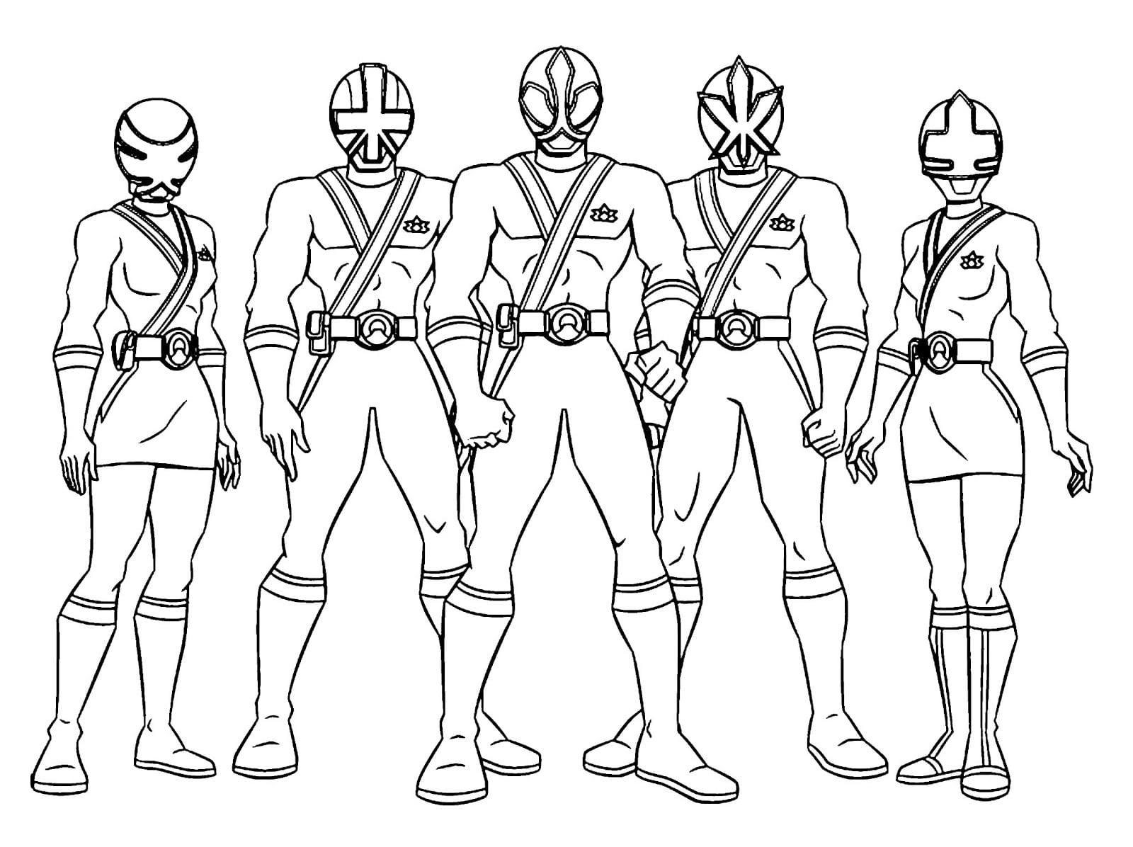 Good Power Rangers Coloring Pages In Power Rangers Coloring Pages