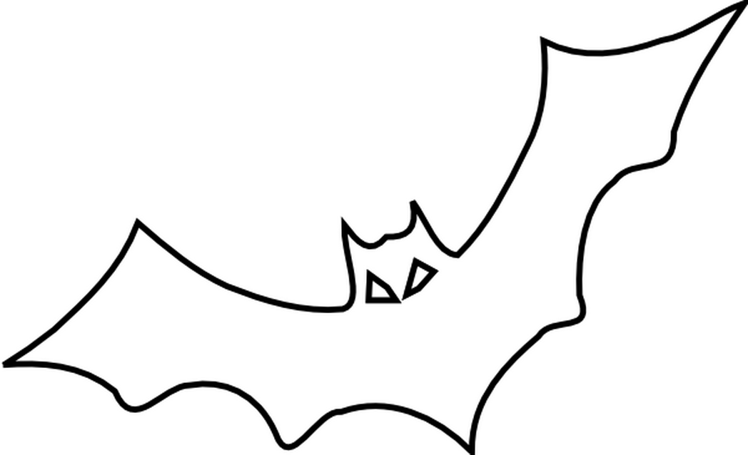 Halloween Bat Coloring Pages  2238