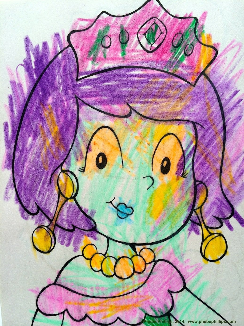 Coloring Outside The Lines…it's Not Just For Kids