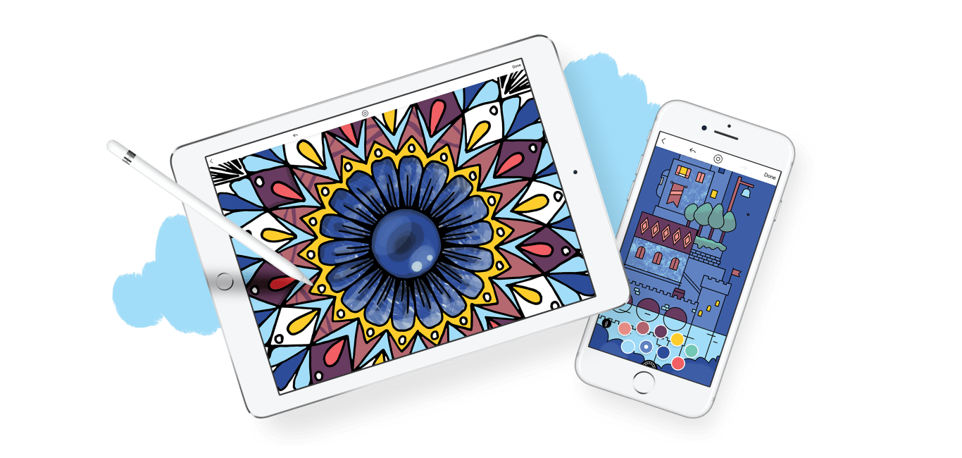 Coloring Apps For iPad – NEO Coloring