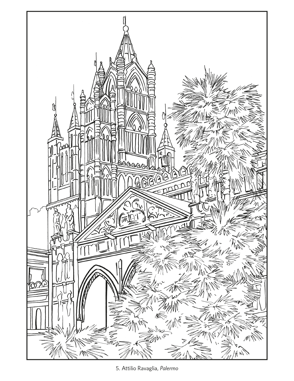 Italy Travel Posters Coloring Book Colouring Book 14283