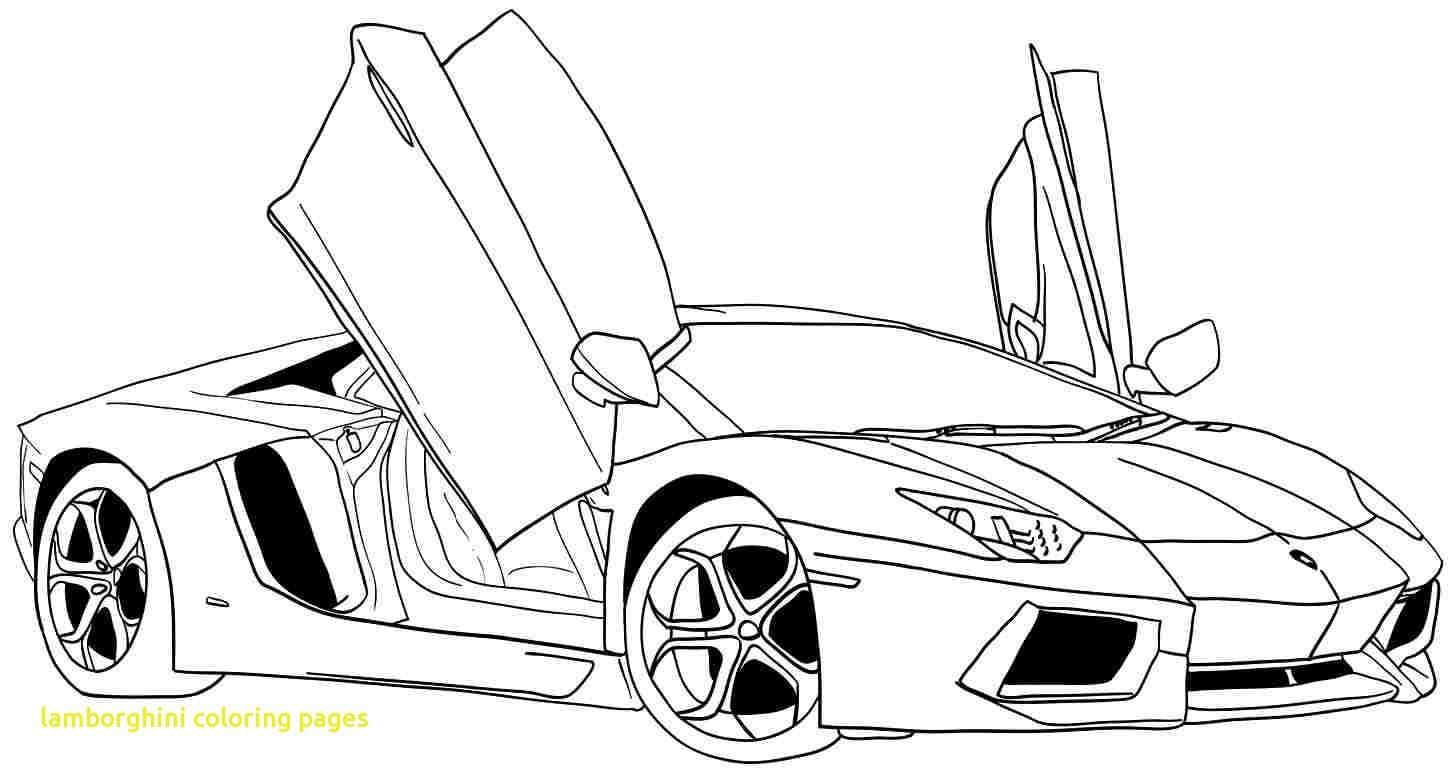 Lamborghini Coloring Pages With Lamborghini Aventador Coloring