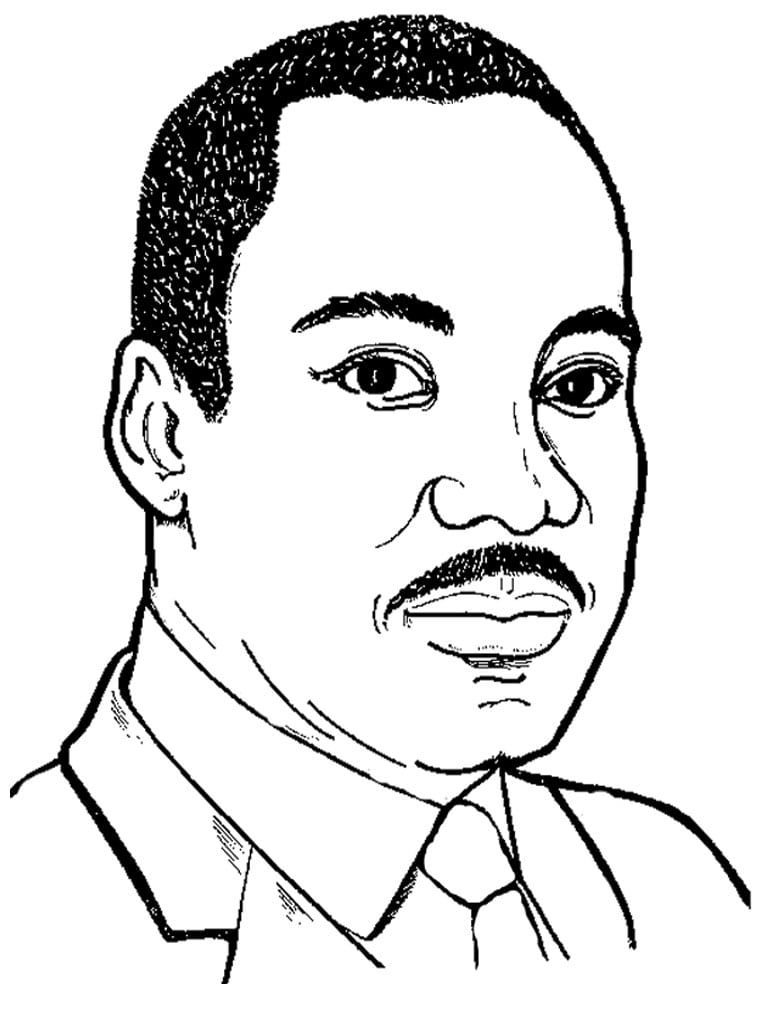 Martin Luther King Drawing At Getdrawings Com