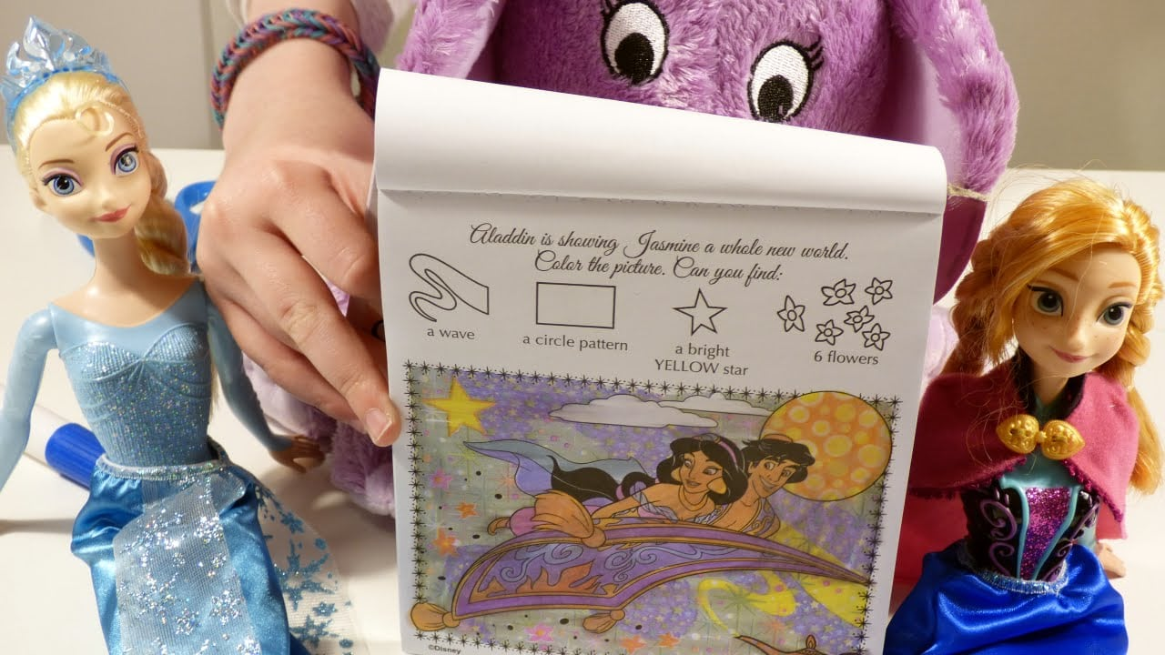 Magical Invisible Ink Coloring Book