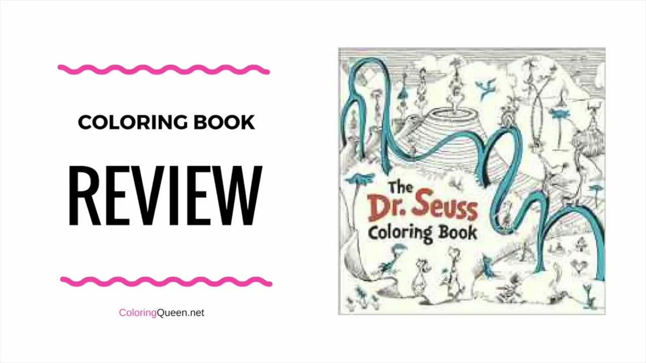 Dr Seuss Coloring Book Review