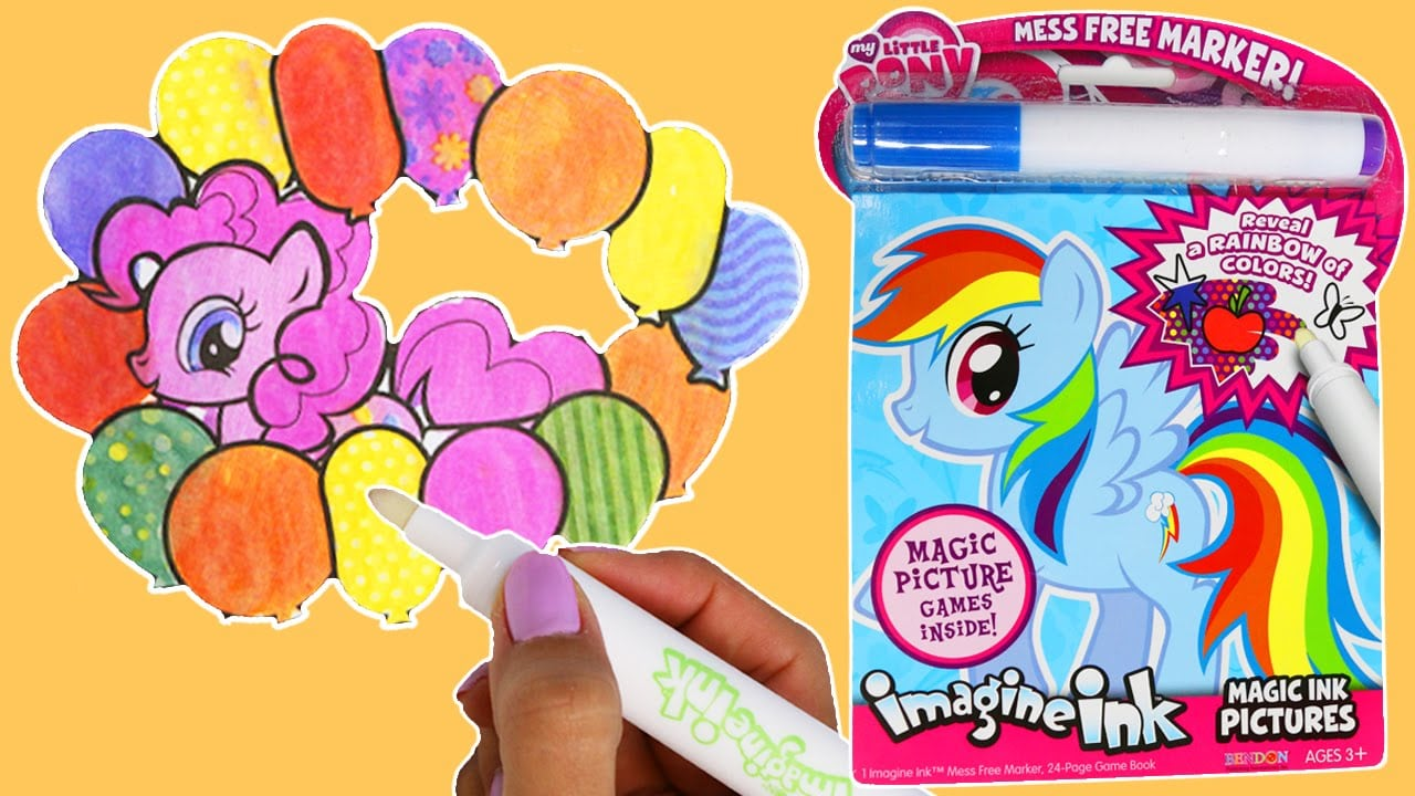 My Little Pony Imagine Ink Magic Marker Activity Book!