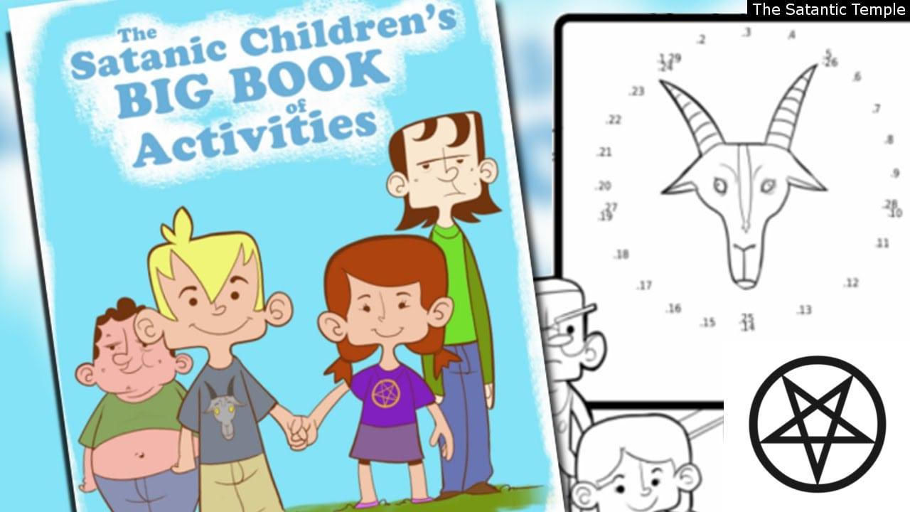 Sataniccoloring Book !into Schools!!