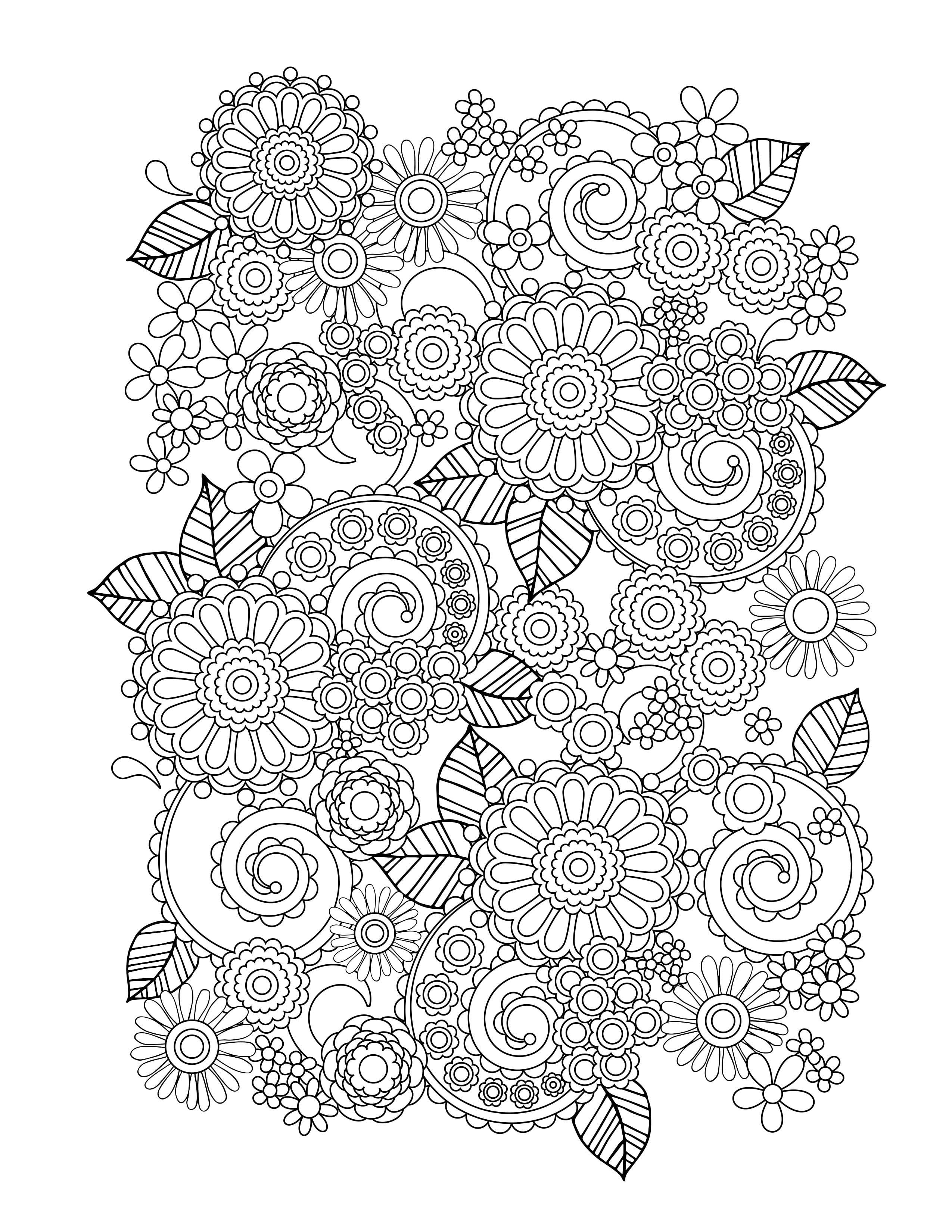 The Adult Coloring Book 25239