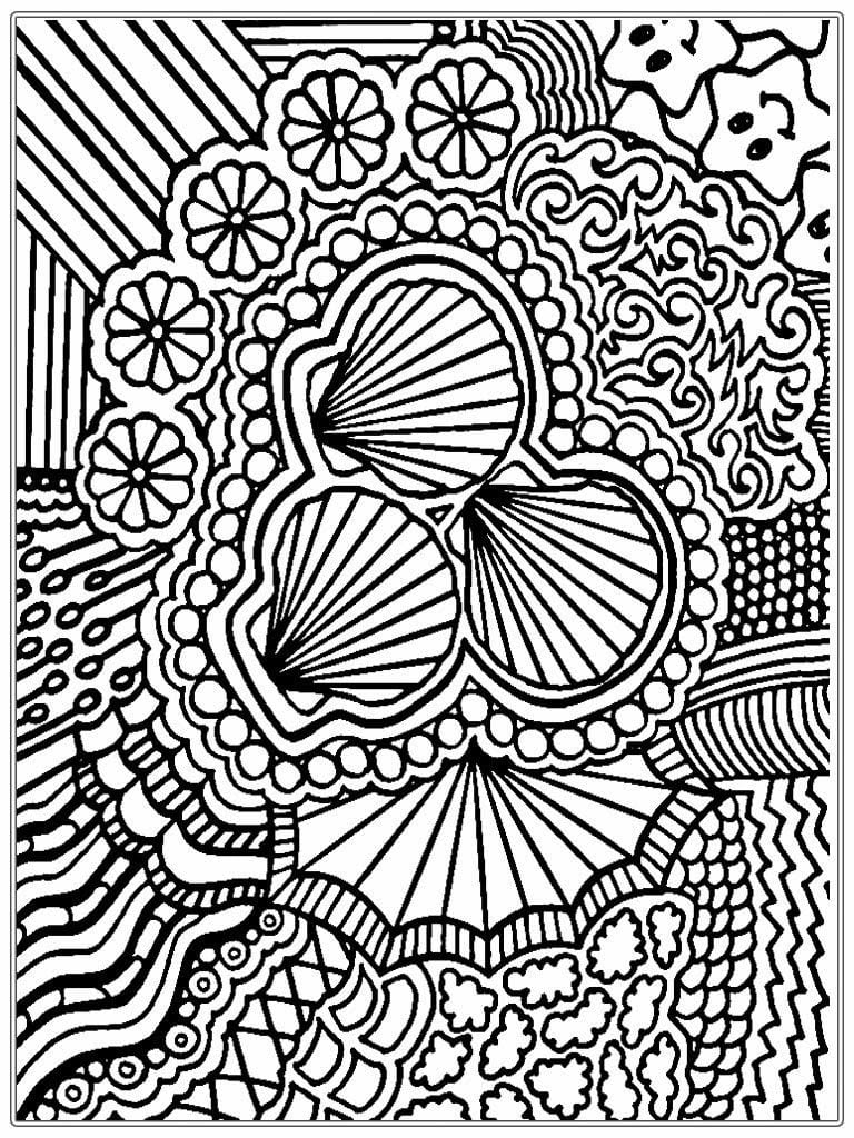 Nice Looking Coloring Pages For Adults Printable Lovely Ideas Cool