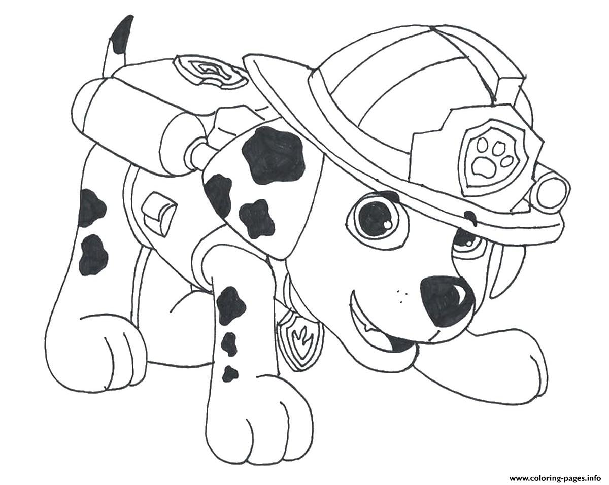Paw Patrol Coloring Pages Free Printable Printable Coloring Pages