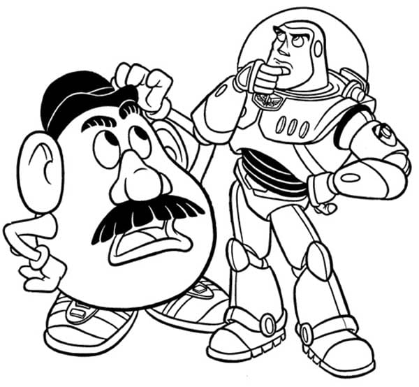 Potato Head Coloring Pages Picture Of Mrs Potato Use Cosmetics