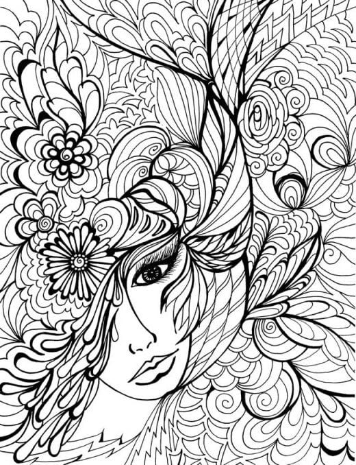 Printable Adult Coloring Pictures New Pages 12412