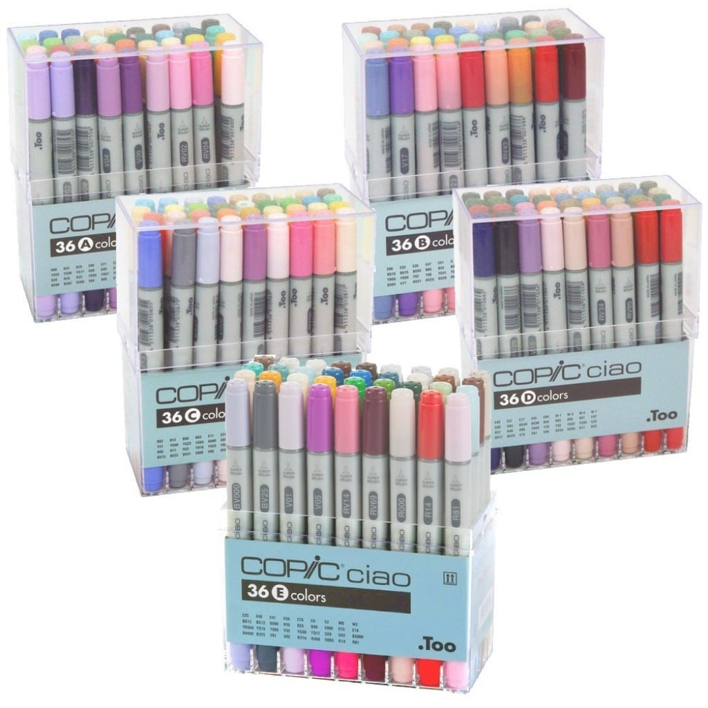 Professional Copic Ciao Marker Sets