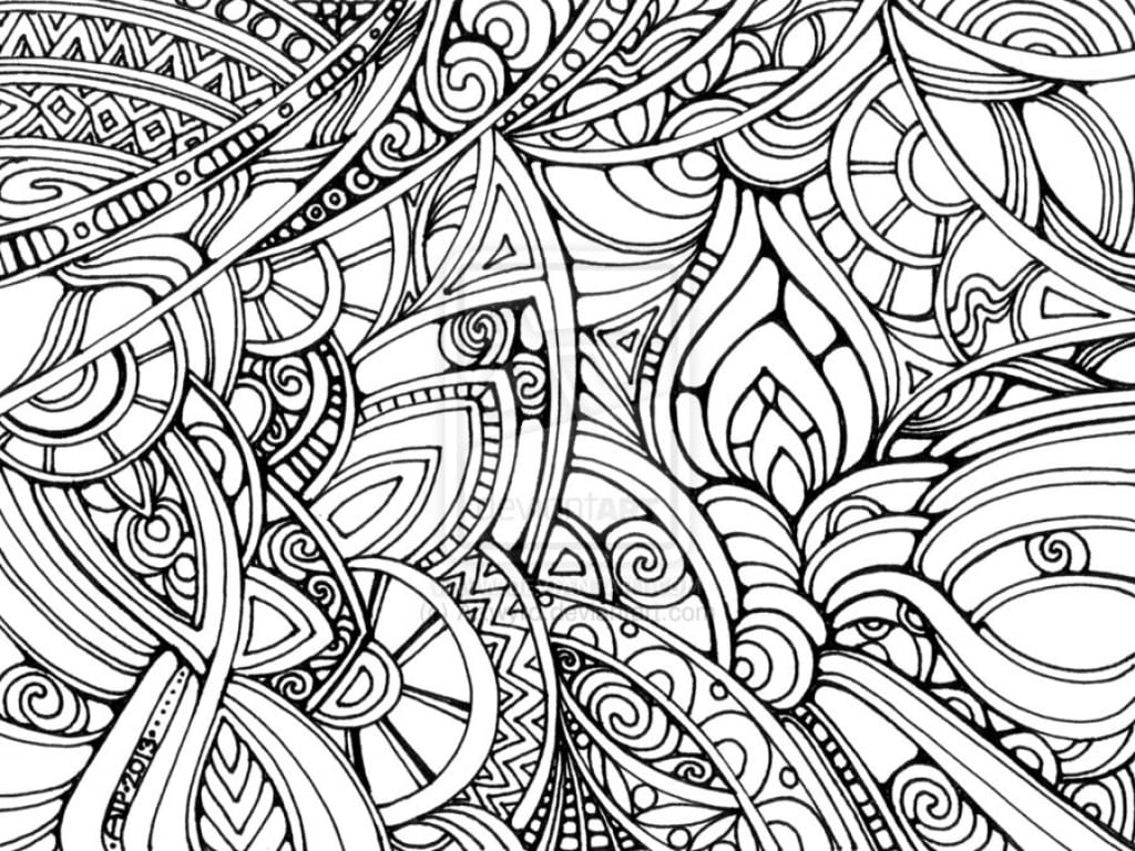 Psychedelic Coloring Book 21852